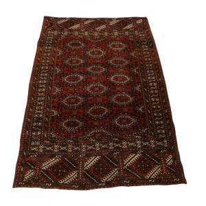 TURCOMAN YAMUT 192cm x 136cm Antique Rugs