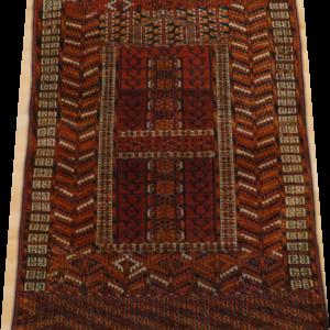 TURCOMAN HATCHLI 140cm x 110cm small Antique Rugs