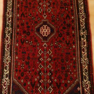 ABEDEH 147cm x 69cm Persian Antique Rugs