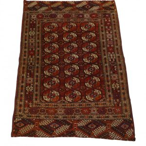 TURCOMAN 142cm x 108cm Antique Antique Rugs