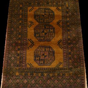 GOLDEN AFGHAN 140cm x 107cm Rug Antique Rugs