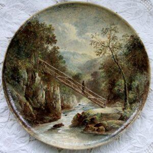 Yale Copeland Plaque On The Llugwy N. Wales