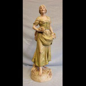 Antique Large Royal Dux Figure