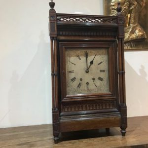 Bracket clock eight day Antique Clocks