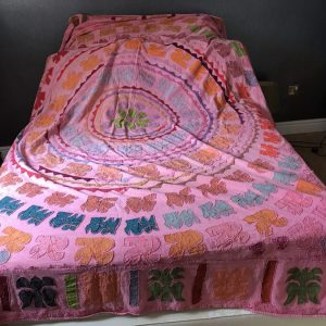 1960's Hippy patchwork quilt Antique Textiles