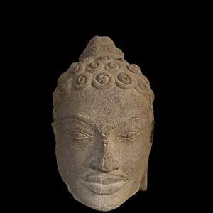 Head of Buddha Antique Antiquities