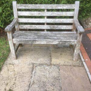 Weathered Teak Garden Bench Garden Bench Antique Benches 2