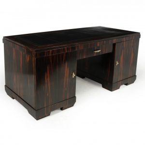 Art Deco Executive Desk in Coromandel c1930 Antique Desks
