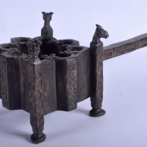 Magnificent LARGE Long handled censer c1,000 year old bakhoor burner Kufic Antiquities