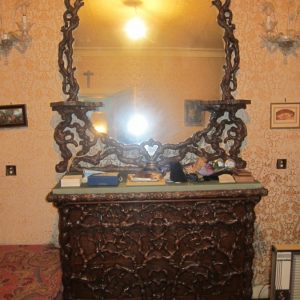 """19th Century Hand Carved """"Black Forest"""" Bedroom Suite armoire Antique Furniture"""