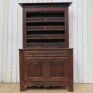 Antique French Oak Dresser cupboard Antique Cupboards