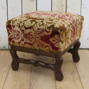 Os De Mouton Foot Stool foot stool Antique Furniture