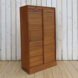 Double Tambour Front Haberdashery Filing Cabinet cabinet Antique Cabinets