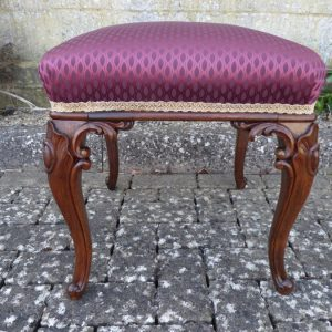 Victorian rosewood stool circa 1850. rosewood, stool, victorian Antique Stools