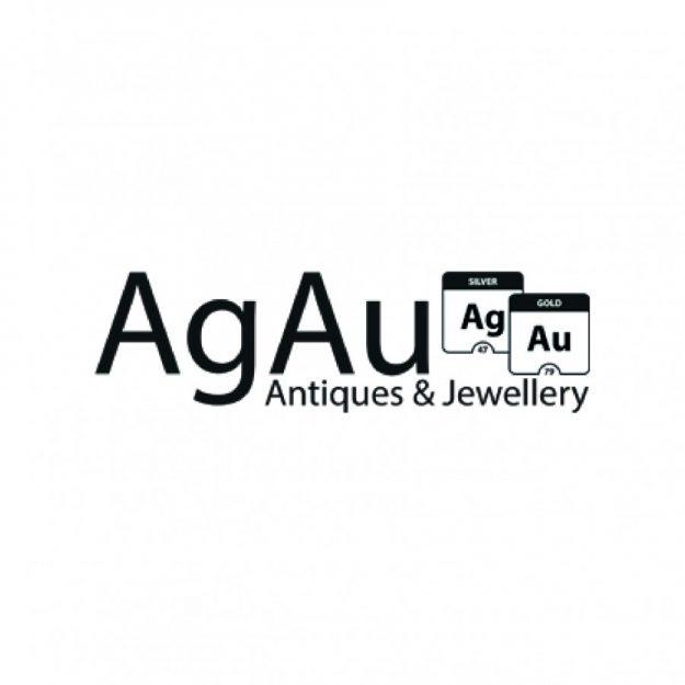 9ct Gold Ruby & Diamond Drop Earring Antique Earrings 2