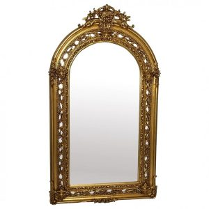 Vintage Huge 193cm Tall French Napoleon III Style Sphinx Gilt Pier Glass Wall Mirror french mirror Vintage