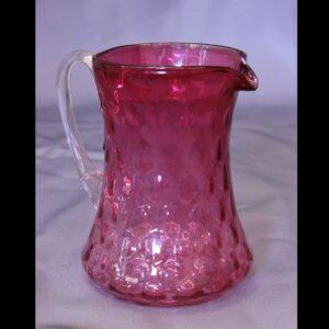 Antique Cranberry Glass Jug