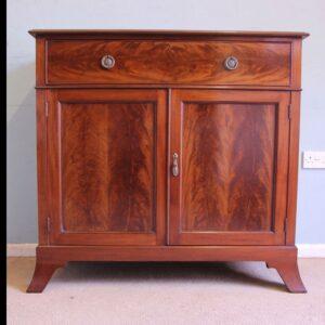 Antique Mahogany Georgian Style Chiffonier Sideboard Base