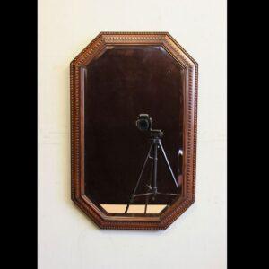 Oak Framed Overmantel Wall Mirror