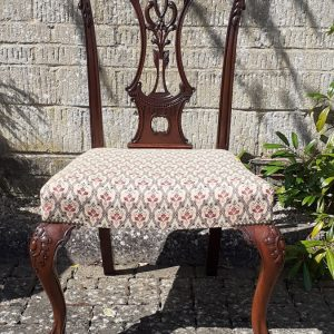 Mahogany Chippendale style chair – 19th century chair Antique Chairs