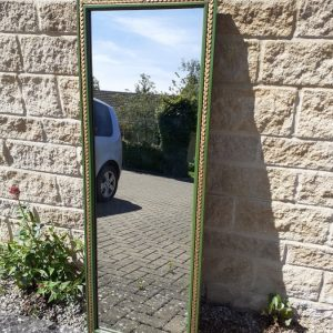 Gesso mirror by Hopillart & Leroy Paris-decorated with bagpipes – 19th centuryC bagpipes Antique Mirrors