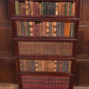 Edwardian Mahogany Globe Wernicke 5 Section Bookcase SAI2209 Antique Furniture