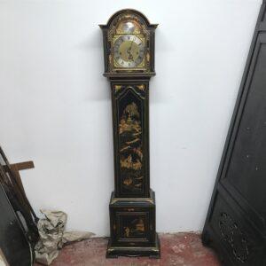 Grandmothers clock, chinoiserie paintings stunning work Antique Clocks