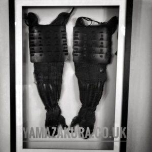 Bishamon kote samurai armour Armour Antique Collectibles