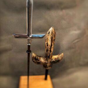 Jumonji yari Japanese Antique Guns, Swords & Knives