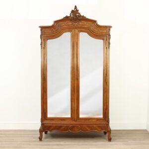 French Walnut Armoire Antique Antique Wardrobes