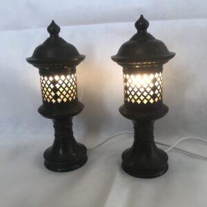 Copper lanterns interior design Antique Lighting