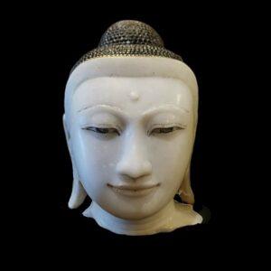 Giant Marble Buddha head