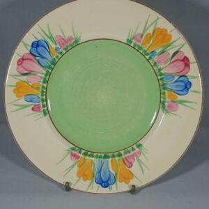 Art Deco Crocus Tea Plate by Clarice Cliff art deco Antique Ceramics