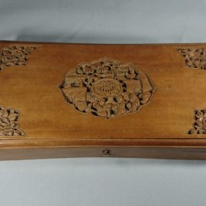Antique Chinese Hand Carved Box Chinese box Antique Boxes