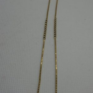 Vintage 9ct Gold Chain unusual gold chain Antique Jewellery