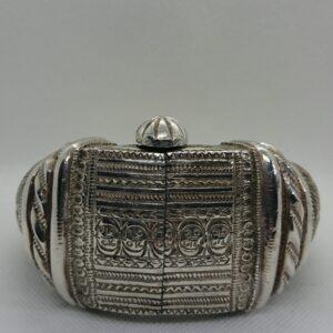 Genuine Antique 19th Century Silver Slave's Bangle Bangle Antique Jewellery