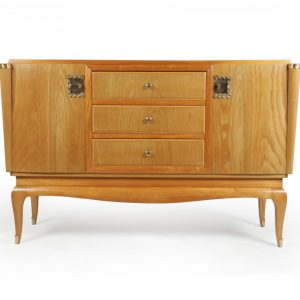 French Art Deco Sideboard in Cherry Antique Sideboards