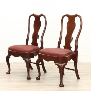 A Pair of George 1st Mahogany Chairs (Circa 1720) a pair Antique Chairs