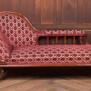 Victorian Mahogany Chaise Longue SAI2237 Antique Furniture