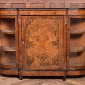 Victorian Burr Walnut Credenza SAI1971 Antique Furniture