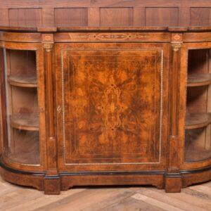 Fantastic Victorian Inlaid Burr Walnut Credenza SAI1992 Antique Furniture