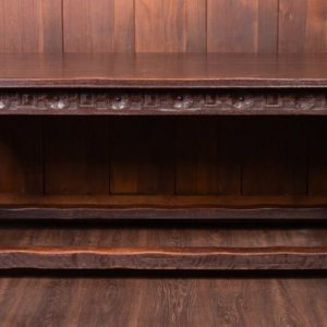 Fabulous 18th Century Carved Oak Refectory Table SAI1789 Antique Furniture
