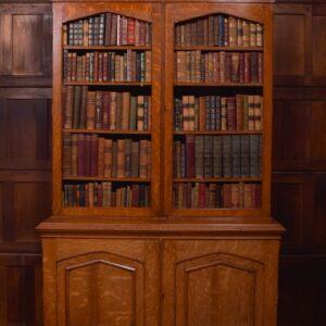 Victorian Oak Bookcase SAI2013 Antique Furniture