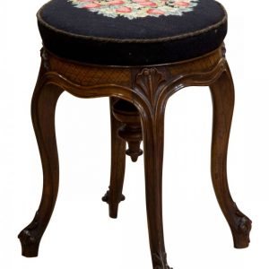 A Rosewood Piano Stool Antique Stools