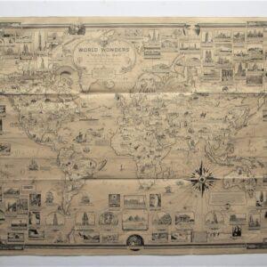 World – Chase – Pictorial map Antique maps, vinatge maps, pictorial maps, world, chase Antique Maps 2