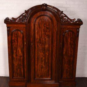 Stunning 3 Door Scottish Victorian Breakfront Wardrobe SAI3 Antique Furniture
