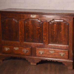 Georgian Oak Panelled Mule Chest SAI1146 Antique Furniture