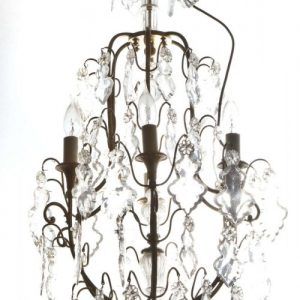 French Louis XV style cage chandelier Antique Furniture