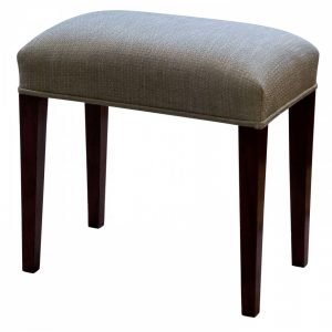 Georgian mahogany dressing stool Antique Stools