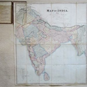 India – folding map antique maps, folding maps, india Antique Maps